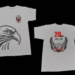 T shirt 20 ans blanc homme